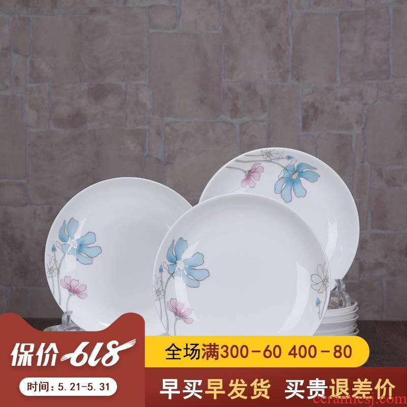 10 home dinner dish dish dish dish plate LIDS, creative move ceramic ipads porcelain tableware suit individual combination