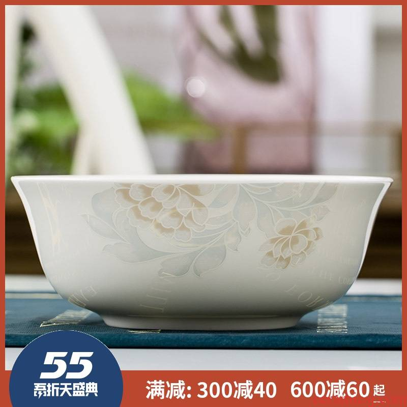 Ipads China jingdezhen ceramics cutlery set to use 6 inch mercifully rainbow such use large rice bowls porringer microwave oven