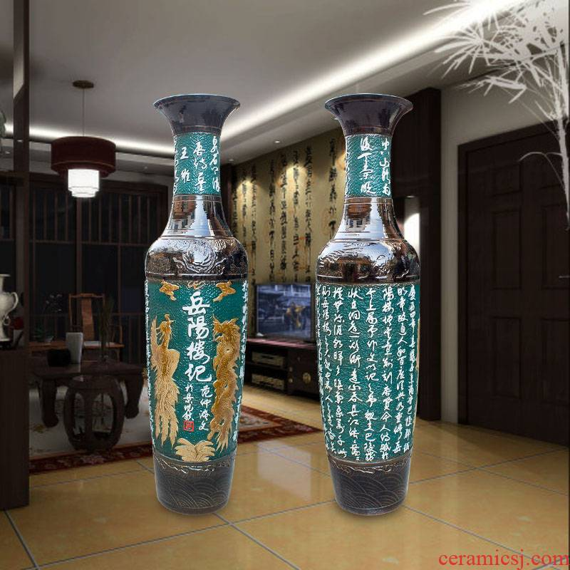 Jingdezhen ceramics vase manual its of large vase prose poetry sitting room adornment is placed