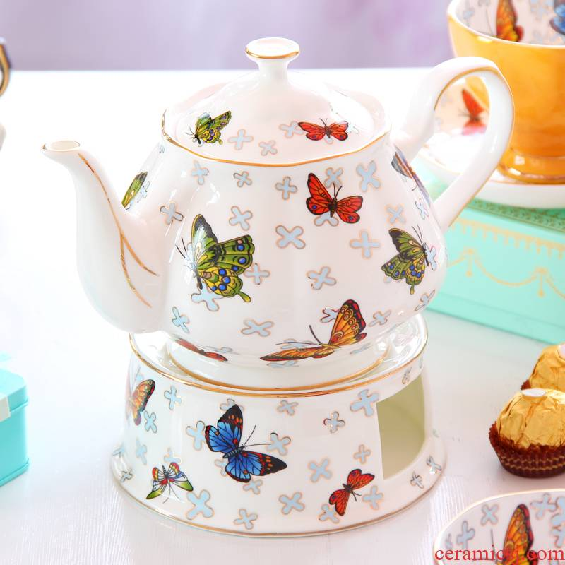 Goods shipped to American coffee pot ceramic English afternoon tea milk jug European - style coffee set