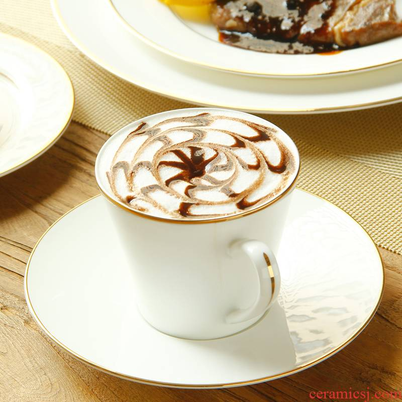 Coffee cup suit European goods to transport 】 【 simple ipads porcelain keller cup ceramic cups of Coffee cups and saucers