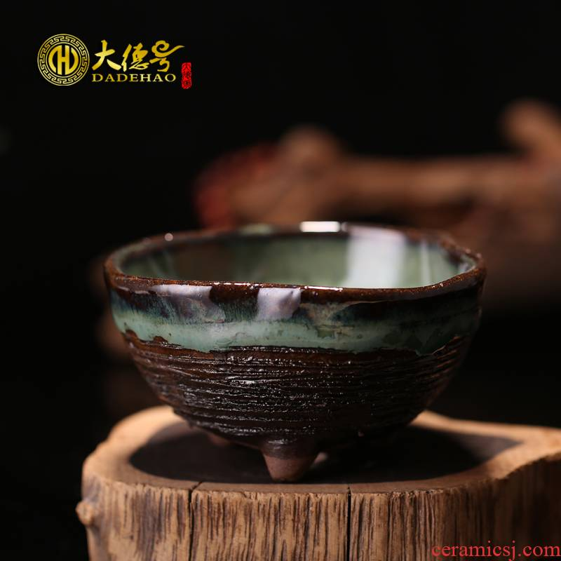Greatness, yixing purple sand flowerpot boutique glaze miniascape of classical Japanese plant basin of small basin of Europe and the United States more than meat