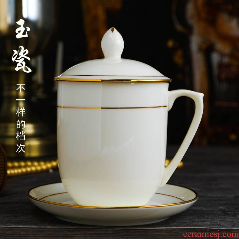 Jingdezhen ceramic cup with cover ipads China cups and meeting office with tea cup cup up phnom penh cup custom logo