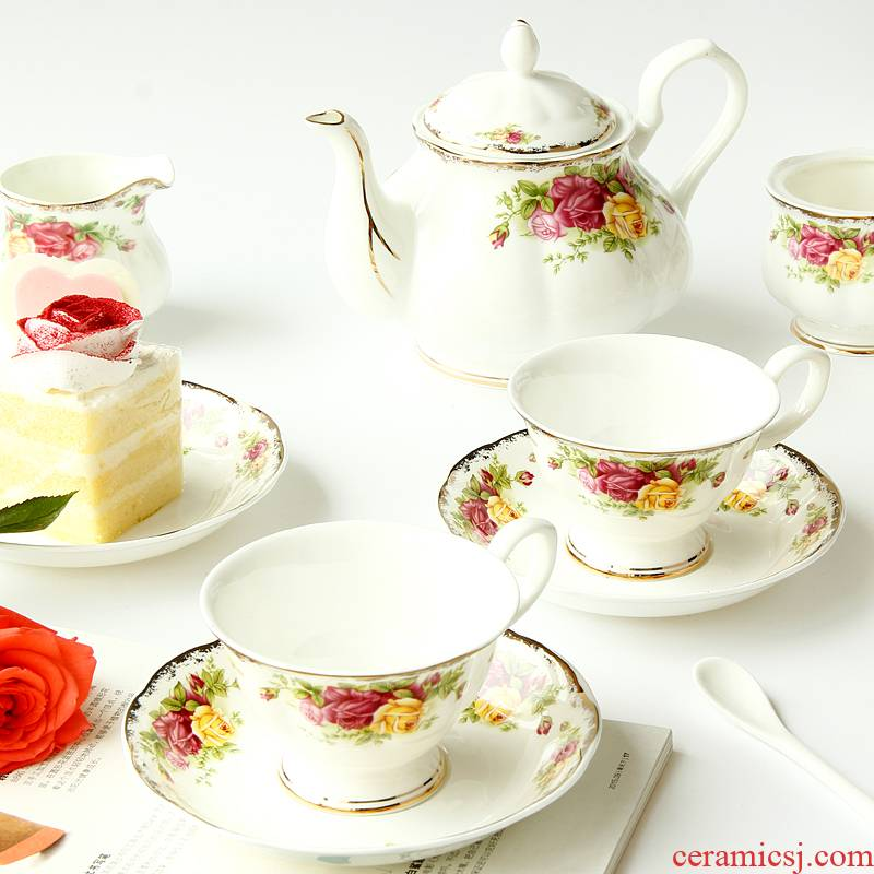European goods to transport 】 【 tea set English afternoon tea tea sets of ipads China coffee cups and saucers ceramics