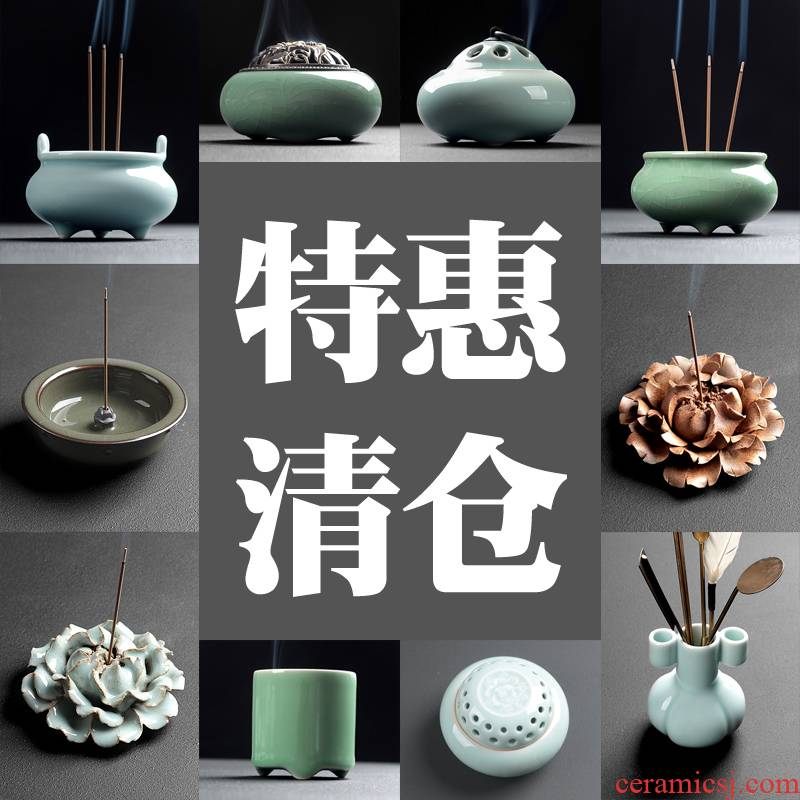 A clearance sale item zone out or aroma stove ceramic Buddha bedroom furnishing articles aloes ta