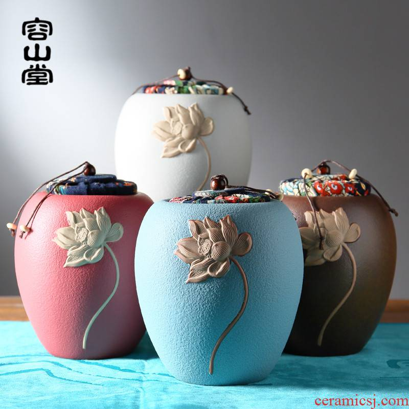 RongShan hall ceramic tea pot size lotus seal pot black tea tea pot coarse TaoCun tank lawsuits