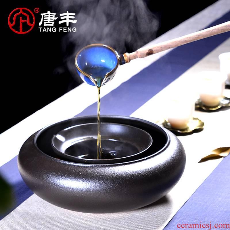 Tang Feng ceramic boiling tea is warm the teapot tea teapot cooked pu - erh tea, black tea bowl coarse pottery tea 3 piece
