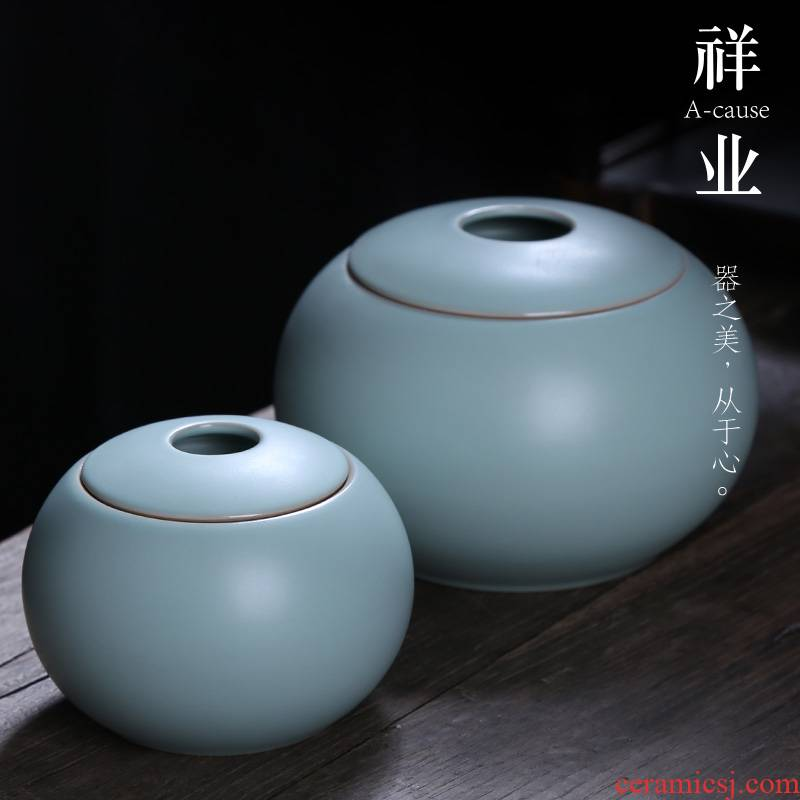 Your up caddy fixings auspicious industry ceramic POTS storage tanks seal pot large kung fu tea set Your porcelain small storage tank