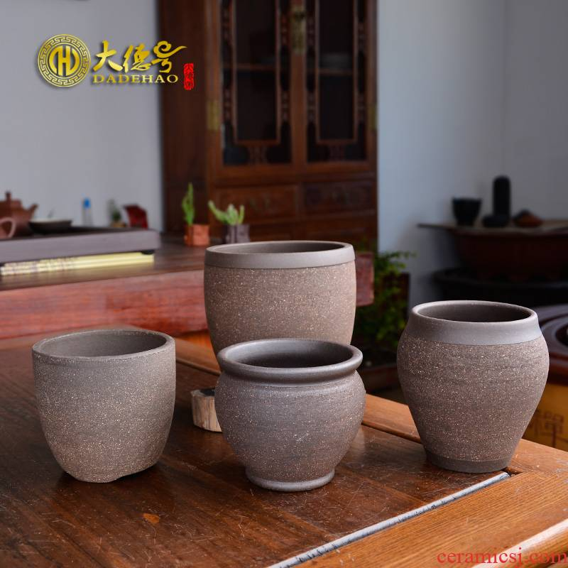 More meat pot ceramic purple sand other the plants thick pot king contracted individuality creative little meat meat potted flower pot