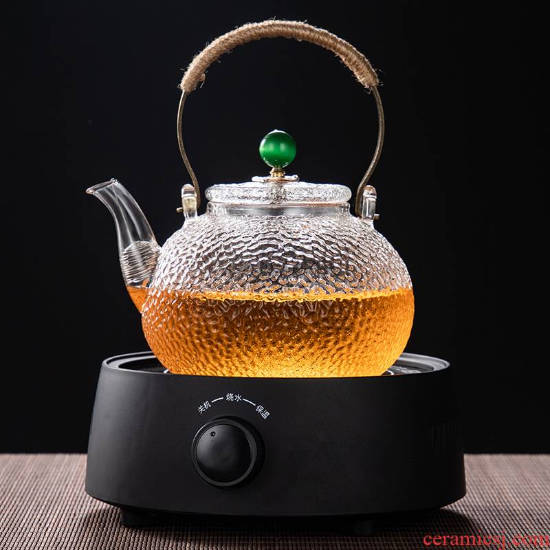 Small household electrical TaoLu heat boil tea ware glass.mute health tea stove hammer kettle teapot is special