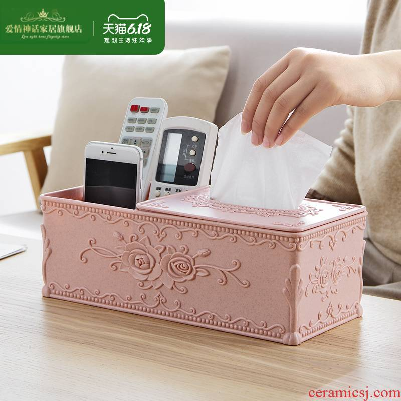European carve patterns or designs on woodwork tissue boxes sitting room tea table smoke box household table napkin paper towel wipe boxes
