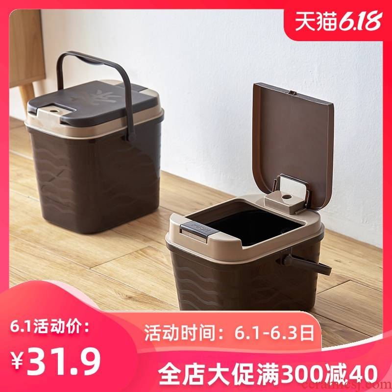 Home in hot tea tea sets tea tray by bucket wastewater tank small plastic trash bucket tea accessories