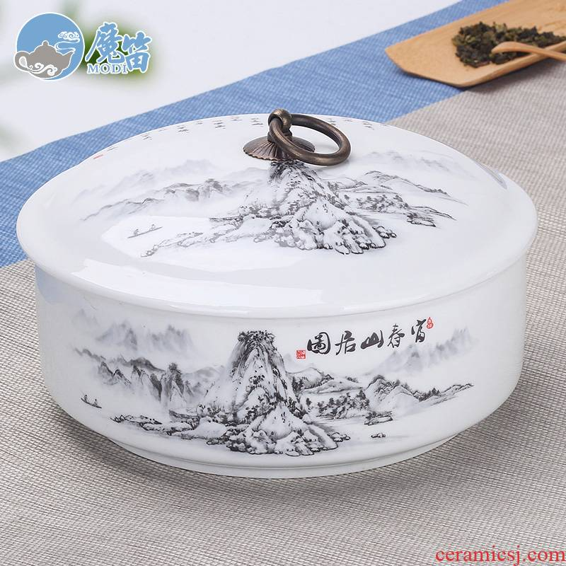 The flute oversized tea wash with cover with a cover on household writing brush washer ceramic tea set accessories for wash bowl of tea with zero water in a jar