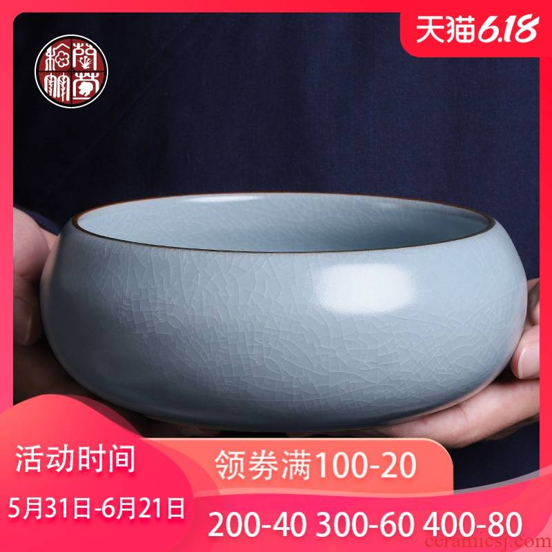 Zen tea water, after the wash your up ware slicing can raise large wash cup contracted household writing brush washer from spare parts for the tea taking