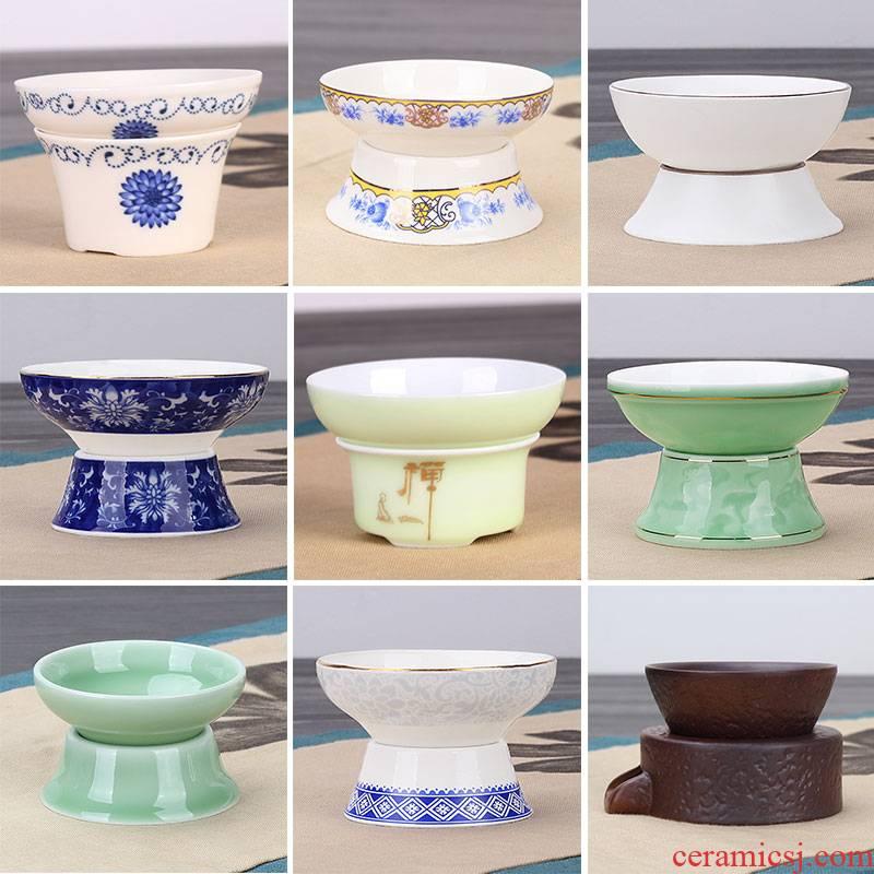 The flute catch tea strainer tea every ceramic tea set accessories make tea tea filters, creative teacups