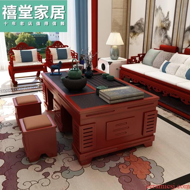 Tea set table multifunctional Tea table integrated automatic water Tea Tea Tea table office meetings