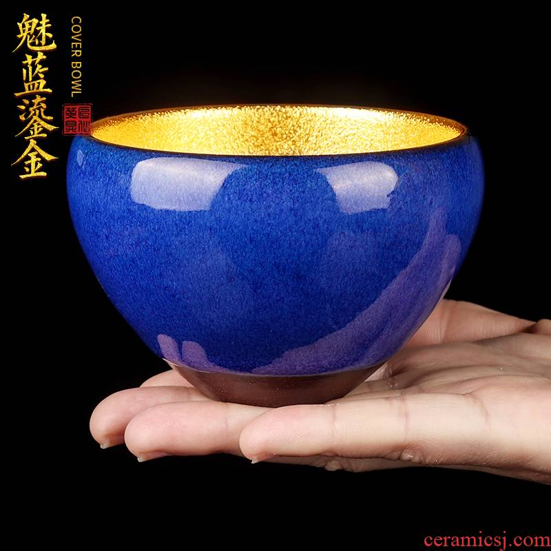 The Master artisan fairy zhi - wei xiong coppering. As question light tea cup, Master cup checking ceramic cups household sample tea cup