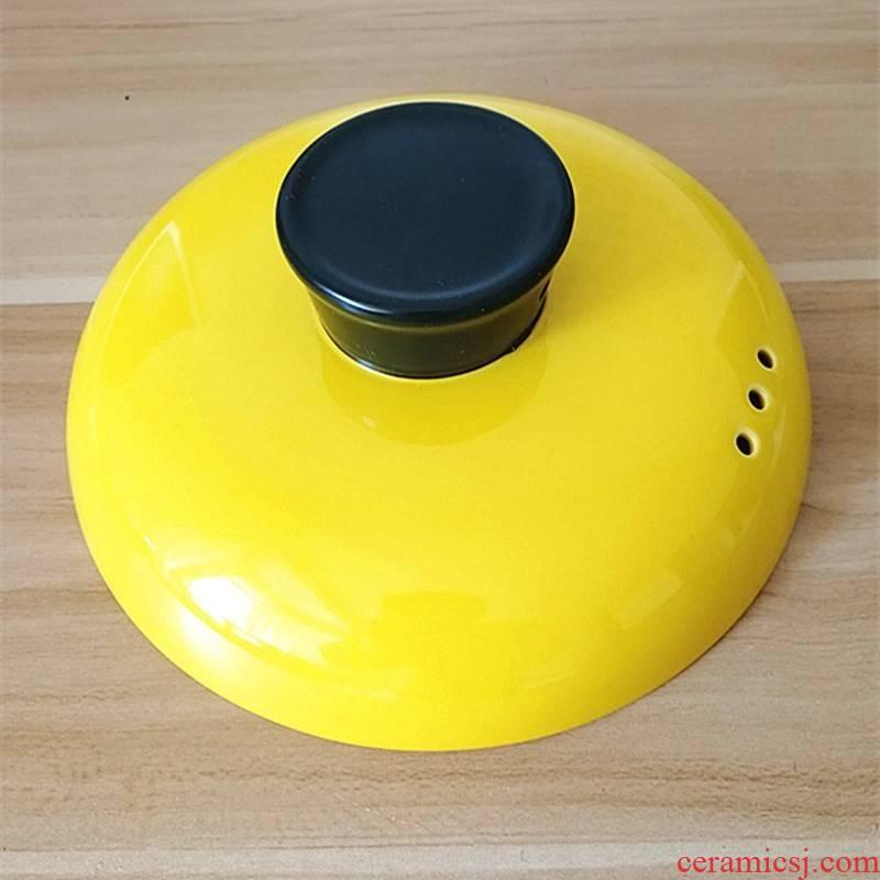 Sand pot son single cover general high - temperature color ceramic soup pot accessories kitchen cooking soup pot stew pot