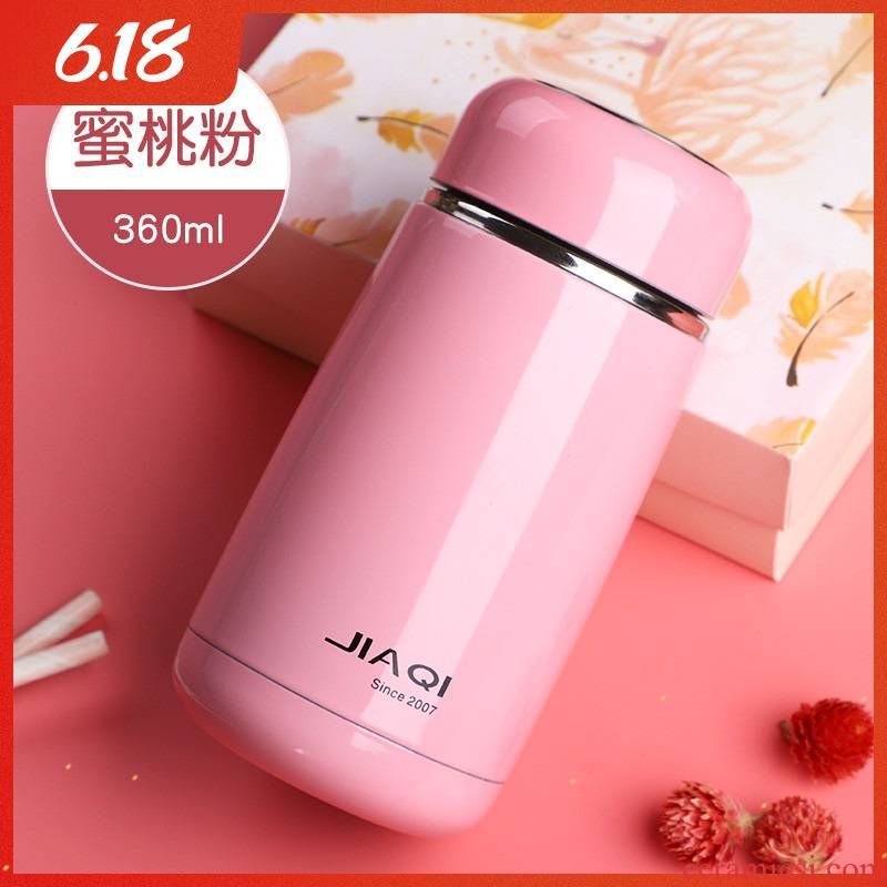 Ms mini vacuum cup small portable web celebrity pupil glass cup children lovely contracted cups ins