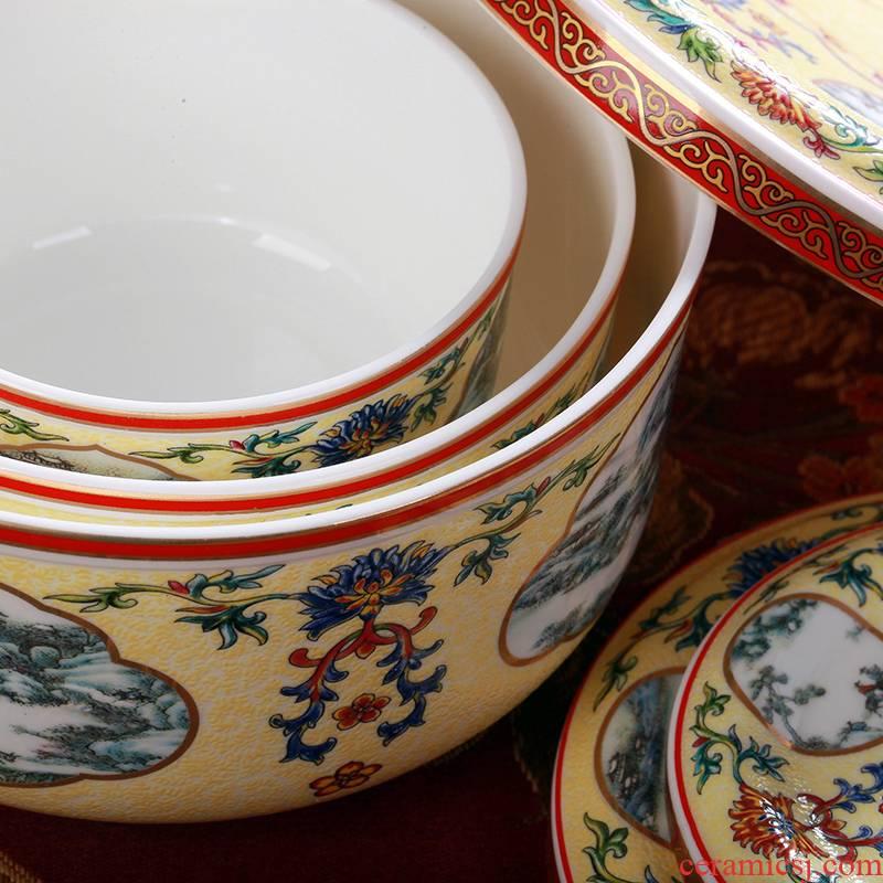 8 hx jingdezhen ceramic preservation bowl freezer lunch box storage tank bowl of soup bowl rice bowls
