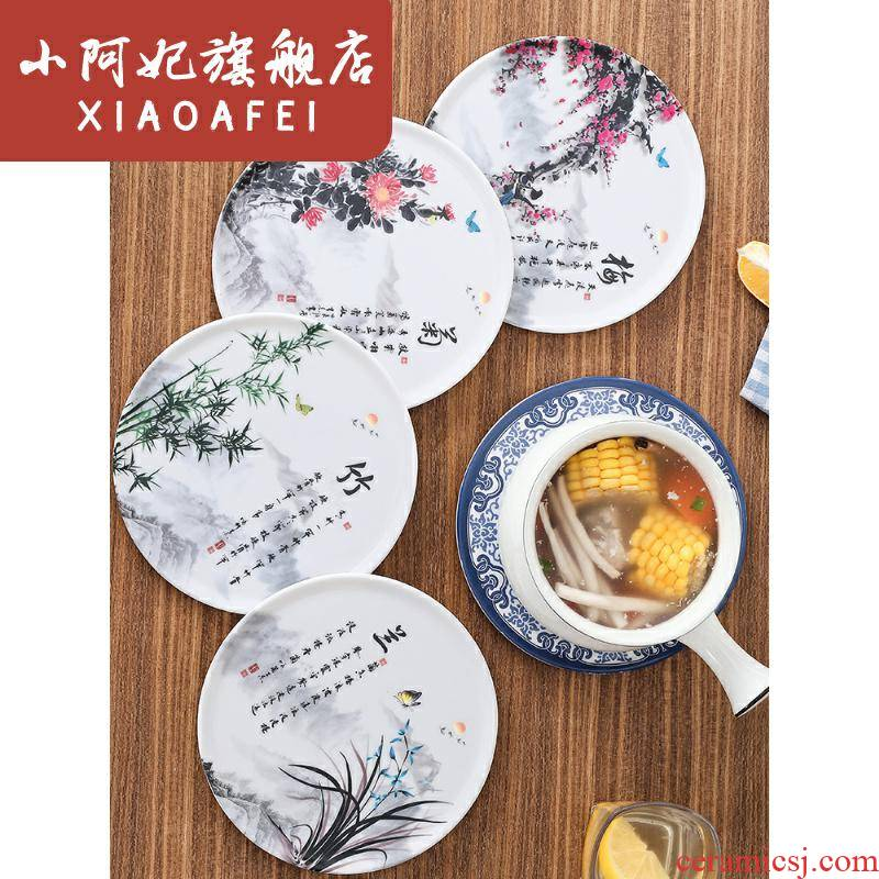 The Heat insulation cotton and linen cloth Chinese eat mat western - style food table cloth art rectangular placemat Chinese wind of new Chinese style household linen