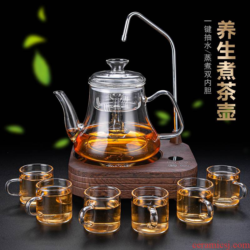 Automatic boiling pot cover household water electricity TaoLu mini small.mute tea stove tea tea an artifact