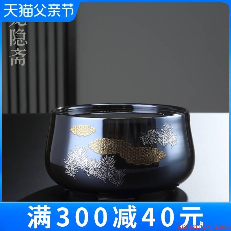 Taiwan Long Yin lent electric TaoLu intelligent.mute household mini small desktop tea stove to boil tea for tea set