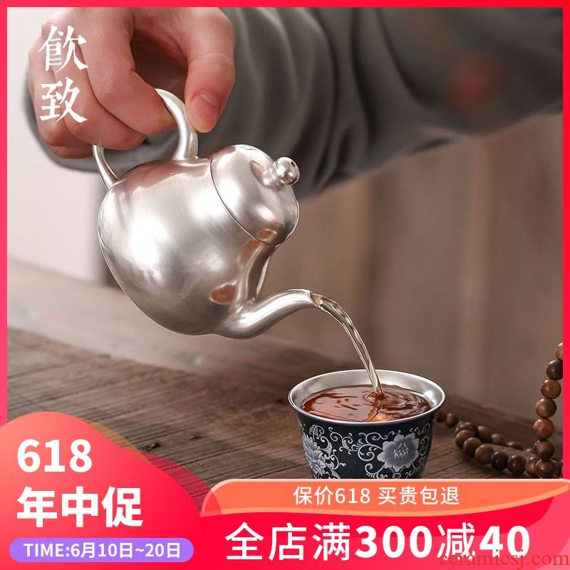 Ultimately responds to silver single ceramic cups coppering. As silver master cup single CPU kung fu tea tea tea bowl is large