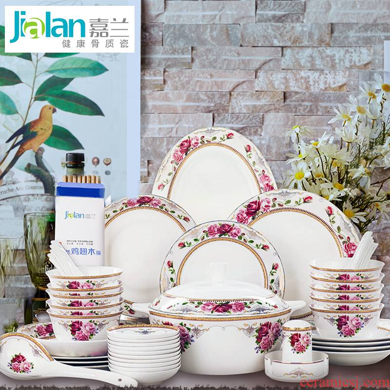 Garland ipads porcelain tableware European - style up phnom penh customize home dishes teaspoons of rainbow such as bowl soup bowl of pottery and porcelain porcelain plate combination