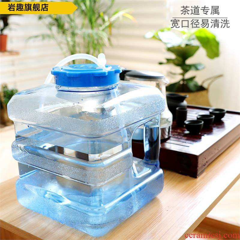 Sitting room, small desktop pumping small bucket type square table tea tea sets and pure tea table bucket bucket bucket tea table