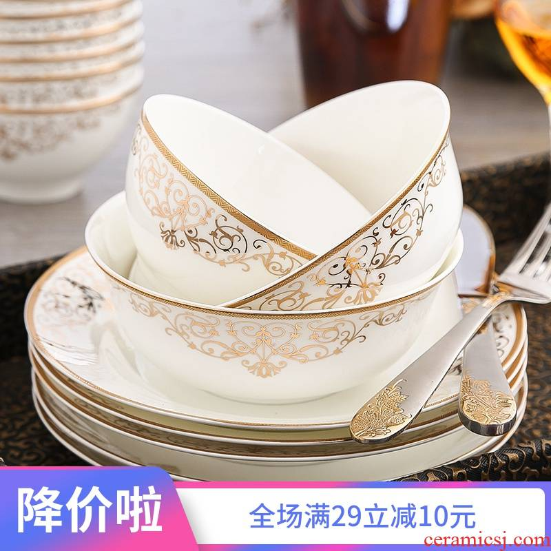 Ipads China tableware dishes suit bulk, Korean dishes mercifully rainbow such use diy and tie - in combination of household jobs rainbow such use spoon