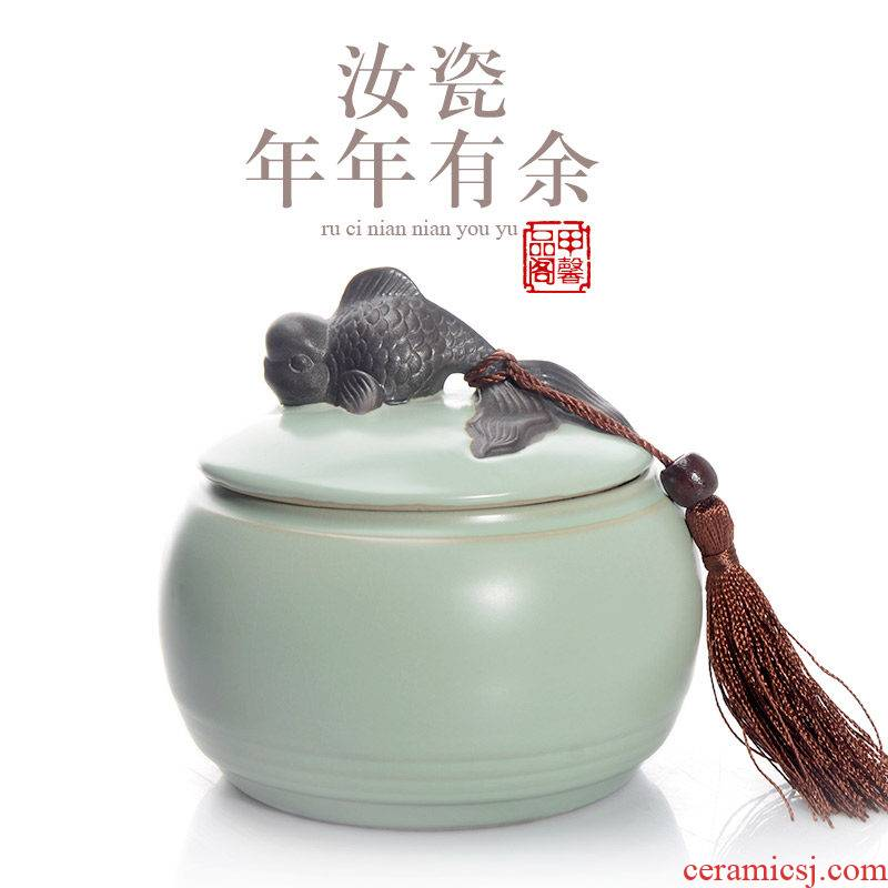 JiaXin open leaf your up household bucket of pu - erh tea pot seal Japanese kung fu tea accessories