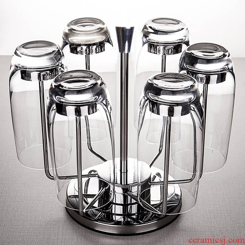 Ocean import lead - free crystal glass household juice cup suit European cups of water 6 cups water fittings