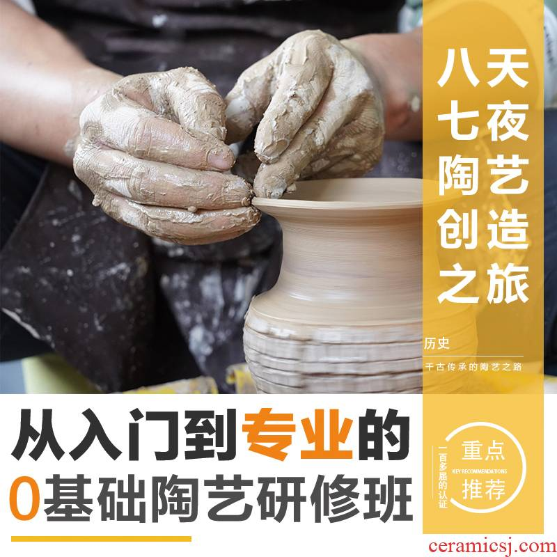 Ceramic art training professional training bar skills Ceramic art would training market share the operational guidance