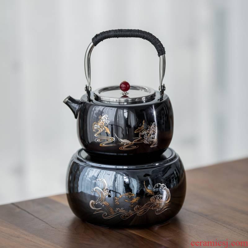 Vegetation school product TaoTang stainless steel kettle TaoLu boiled tea machine household tea kettle teapot tea stove temperature