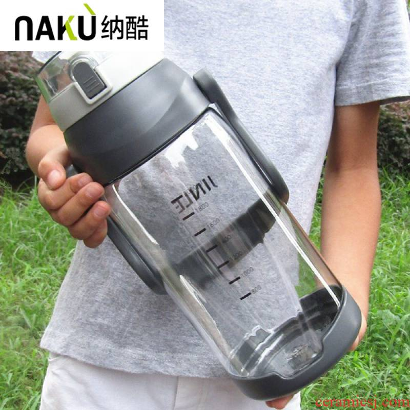 Na cool large capacity 3000 ml cups large plastic bottle 3 liters field portable kettle site to go in summer