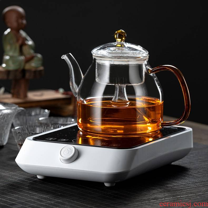 Glass tea kettle steaming kettle high - temperature thickening steam boiling kettle electric TaoLu tea home special