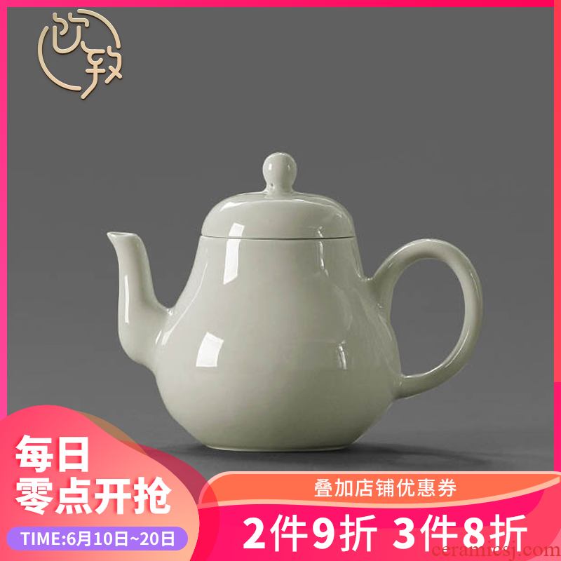 Ultimately responds to the secret glaze little teapot Japanese fine pottery kung fu tea set archaize home jingdezhen ceramics single pot teapot