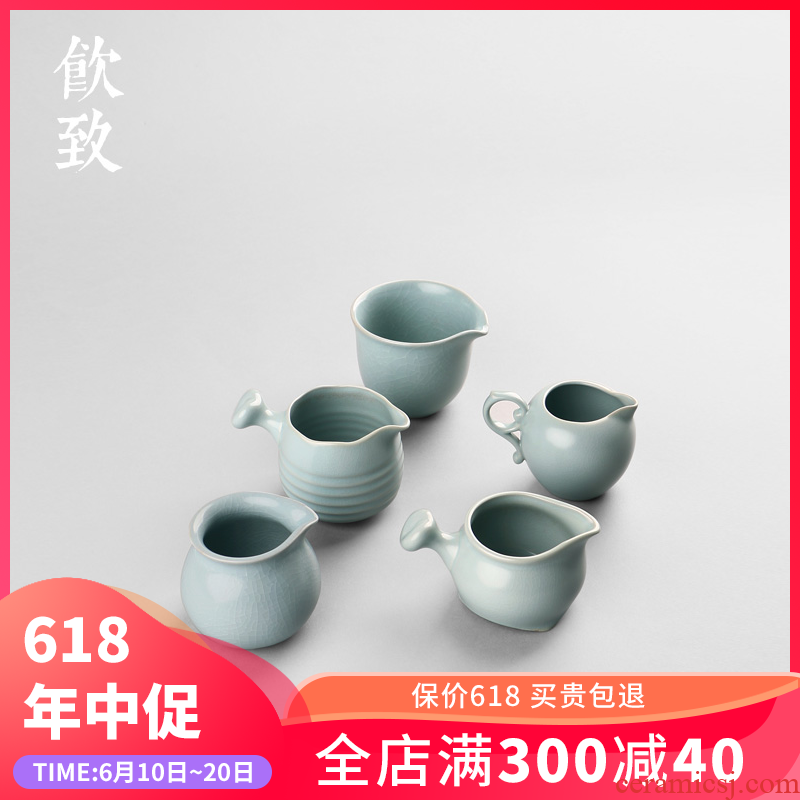Ultimately responds to porcelain ceramic ice crack glaze and fair keller cup your up tea Japanese points, large single tea set