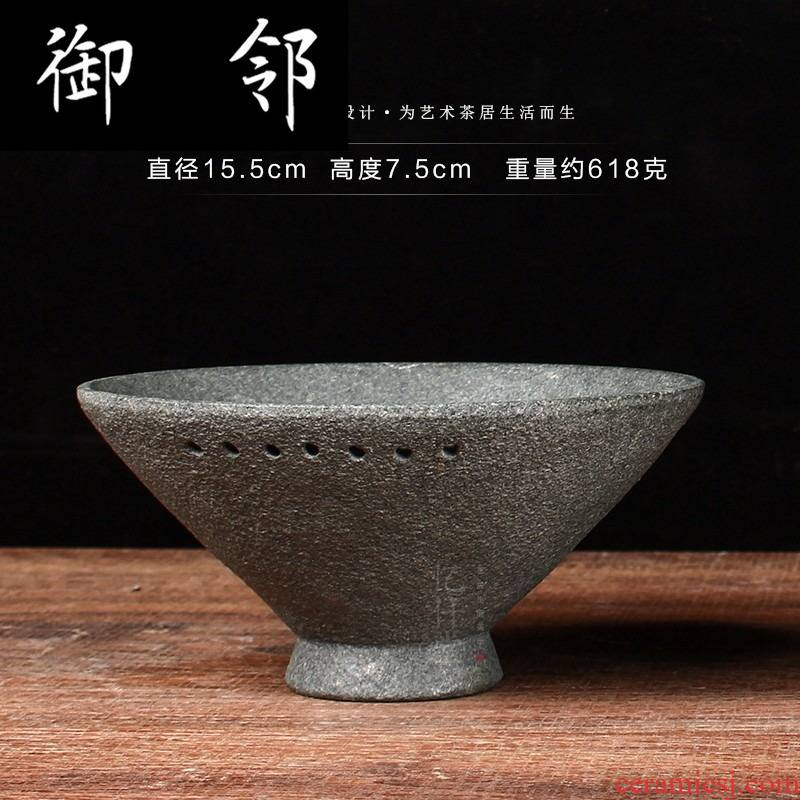 Yq natural stone hat to bowl of Japanese zen large household rainbow such as bowl bowl kung fu tea set tableware