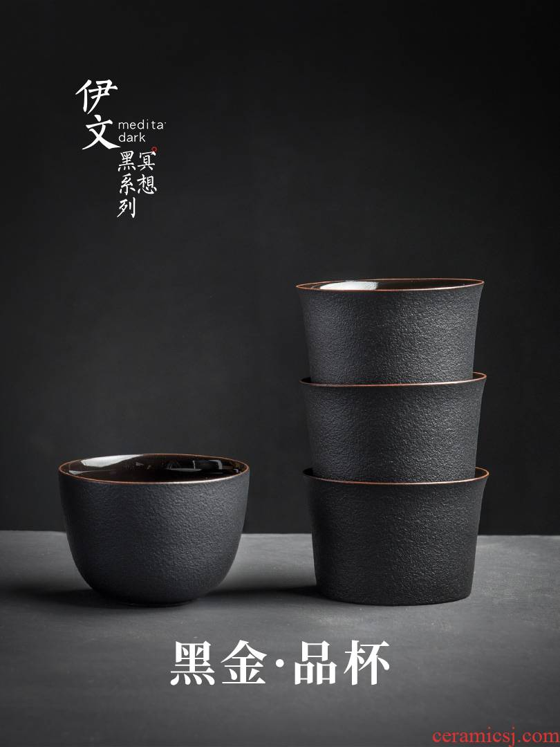 Even Japanese sample tea cup ceramic kung fu tea cup home master cup single CPU contracted small cups