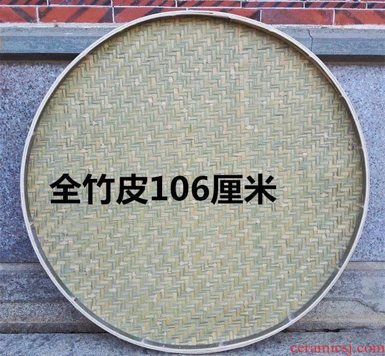 Bamboo screen dustpan painting ZhuBian m screening home Bamboo products Bamboo 箥 basket dustpan Bamboo Bamboo has air basks in tea