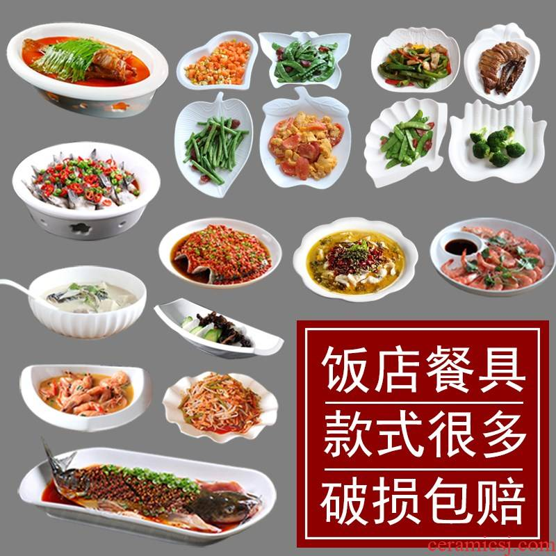 Dish Dish Dish of household ceramics creative move plate hotel restaurant tableware hotel cold Dish Dish ltd. cooking a Dish