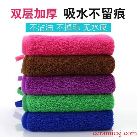 The Clean ceramic tile special cleaning towel cloth dust household mop the floor cloth water dropping thickening