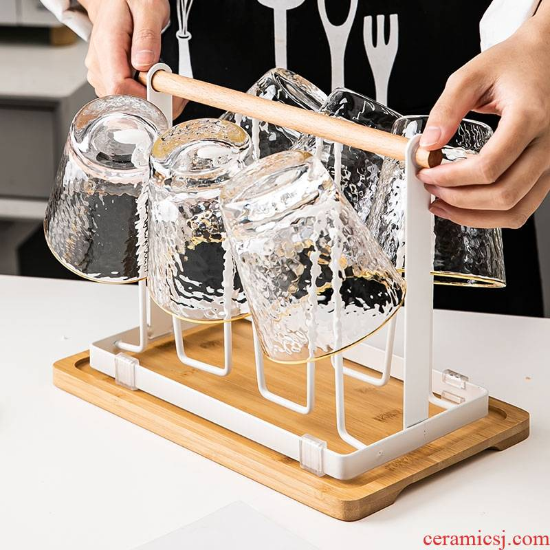 Hk xin rui beer glass cup suit household the sitting room to ultimately responds water heat transparent glass tea cup