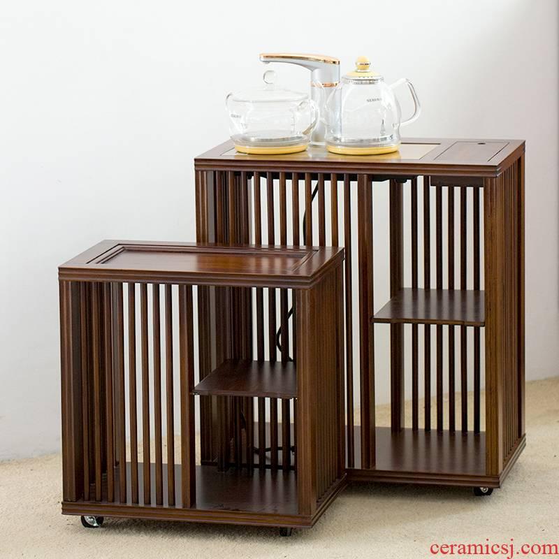 Hong bo gourmet tea, bamboo household tea sets tools tea accessories receive store content ark, mobile tea tank