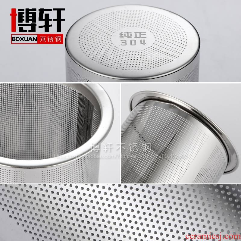 M stainless steel mesh filter tank glass teapot tea pot of) tea filters 304 stainless steel tea filter