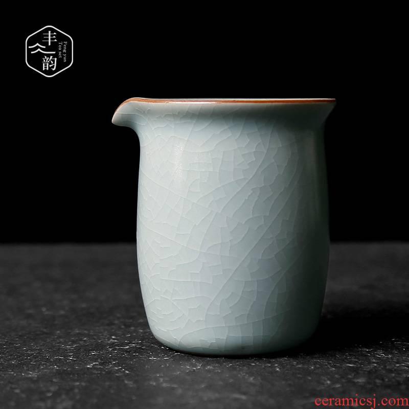 Your up ceramic fair keller piece can raise archaize kunfu tea tea is tea divide the sea and a cup of tea accessories