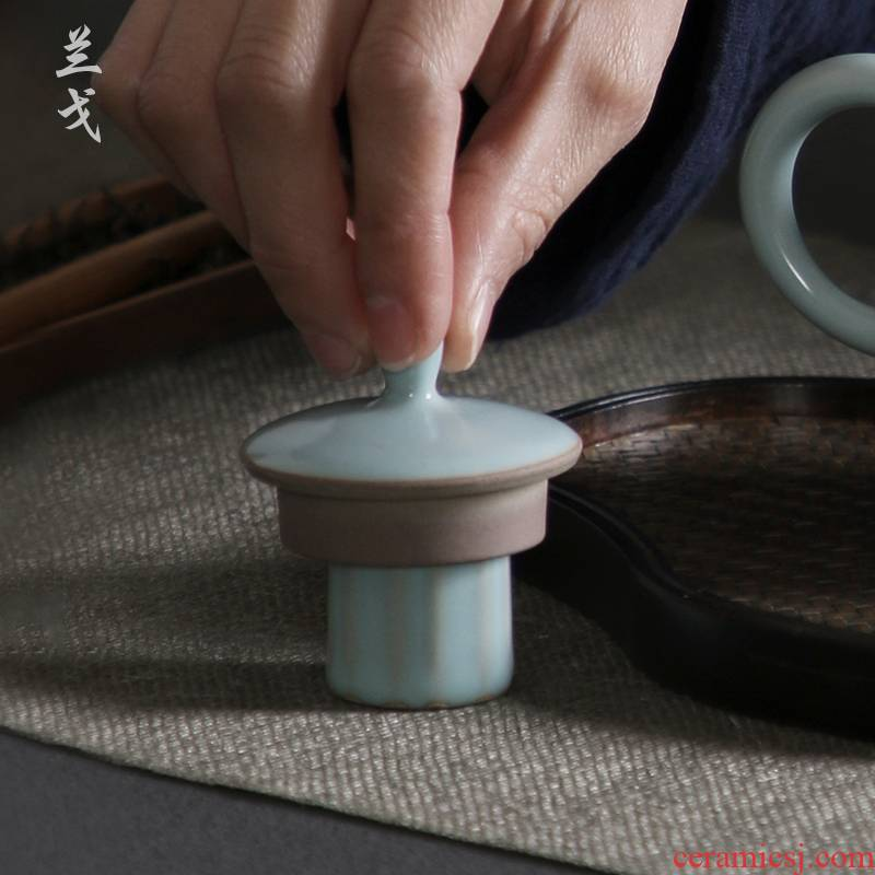 Having the azure cover your up supporting ceramic kung fu tea set household porcelain teapot tea fittings cover to cover