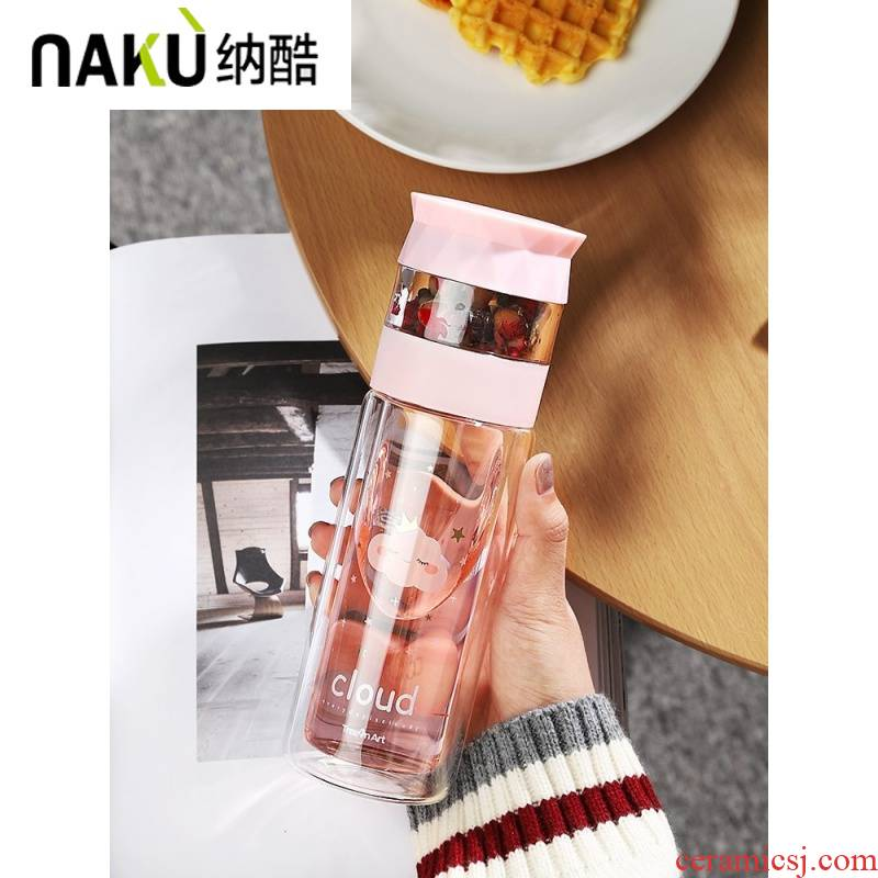 Ms, cool water cup portable creativity elegant tea portable water drop exquisite lovely fashionable tea cups